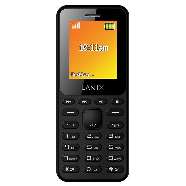 Celular LANIX GSM U210 Color NEGRO Telcel