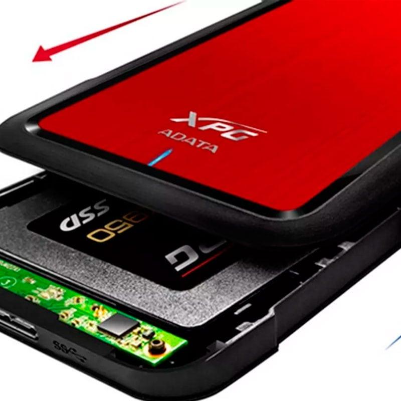 Disco Duro Externo Solido SSD 480GB ADATA SU650 EX500 USB 3.1 AEX500U3-CRD