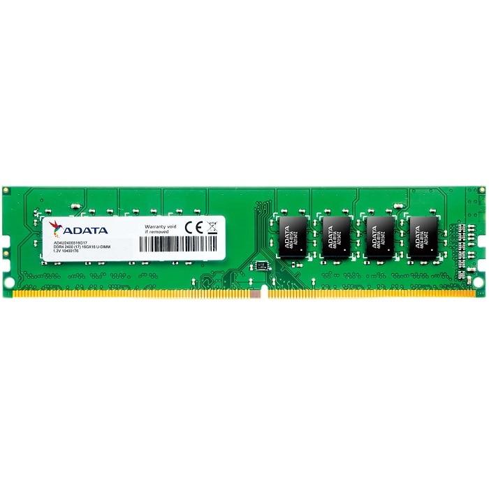 Memoria Ram DDR4 Adata 2400 MHz 4 GB PC4-19200 AD4U2400J4G17-S
