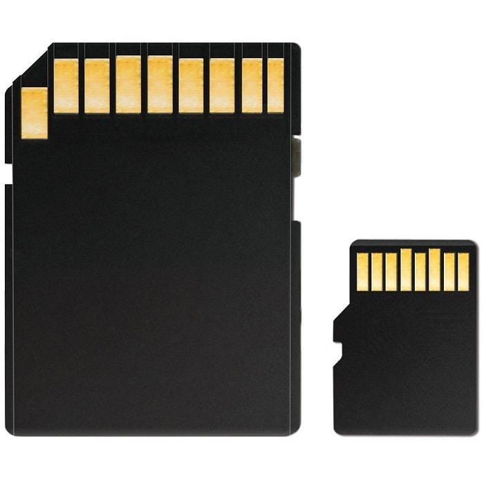 Memoria MicroSD 16 GB Adata SDHC Con Adaptador Clase 10 AUSDH16GUICL10-RA1