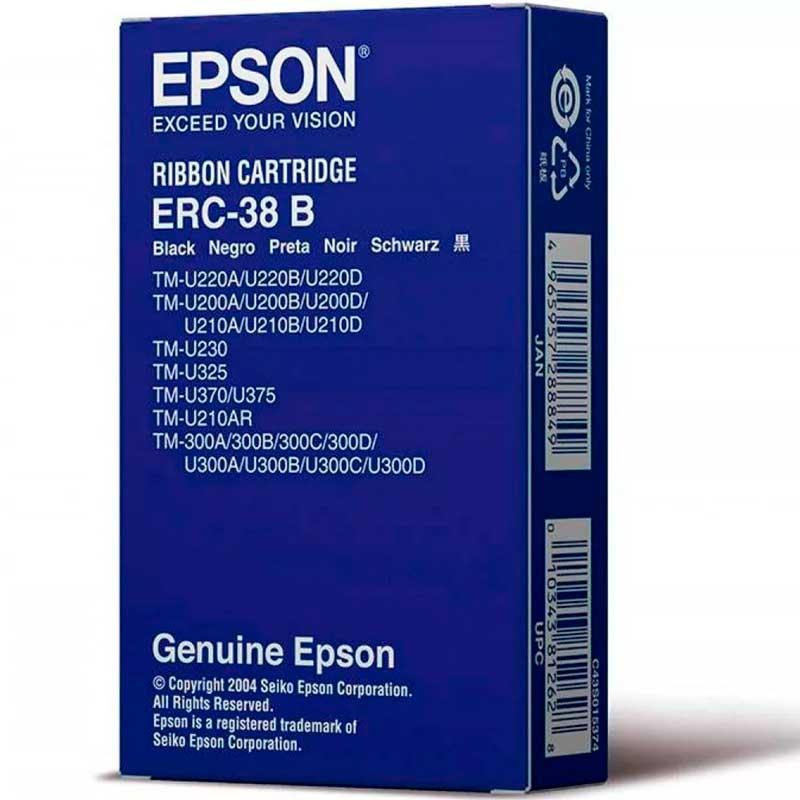 Cinta EPSON Para Impresora TM200 TMU325 ERC38B