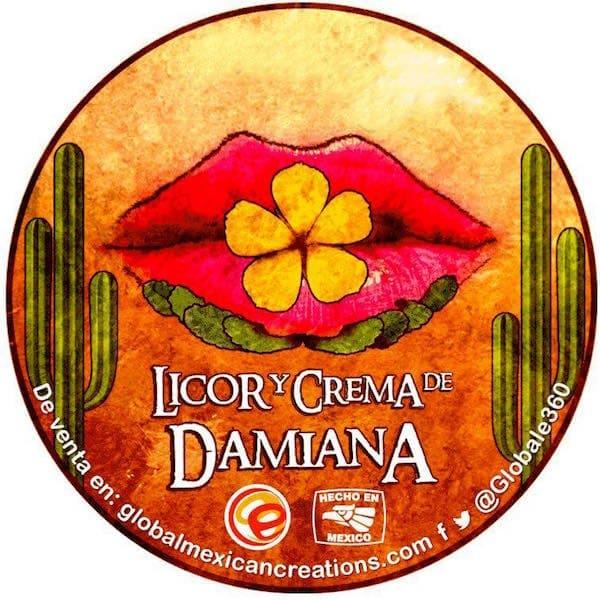 Licor De Damiana Artesanal Gourmet De Baja California Sur 750 ml