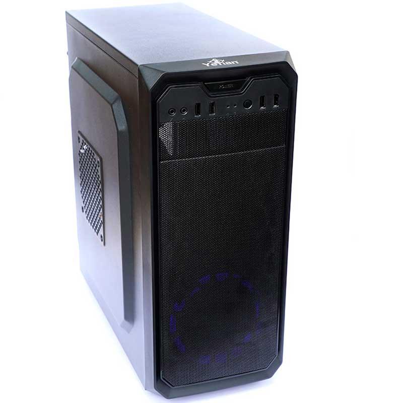 Gabinete YEYIAN Gamer S/Fuente LED Negro STAHL 900