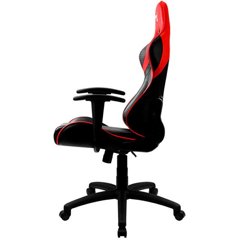 Silla Gamer AEROCOOL AC100 Air ACGC-2023101.R1 Negro Con Rojo