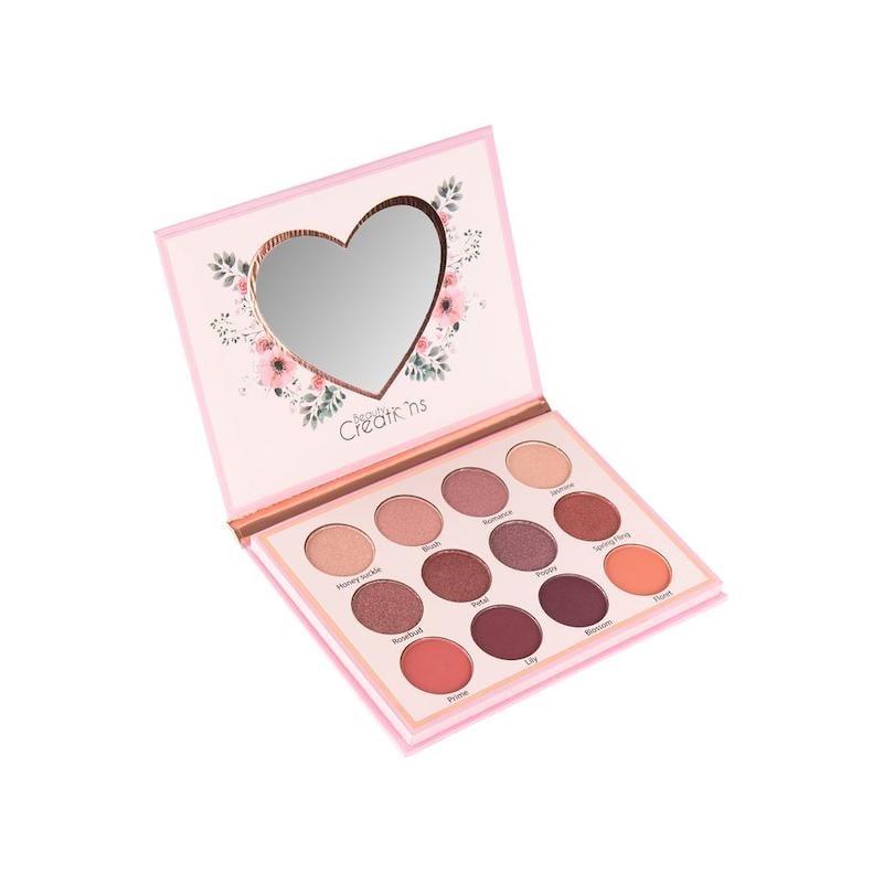 Paquete de 3 paletas Floral Bloom Blush, Highlight and Contour y Eye Bloom de Beauty Creations