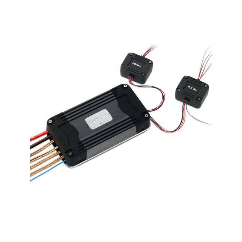 Amplificador focal 4 canales ultra compacto  con potente sonido  modelo 2019