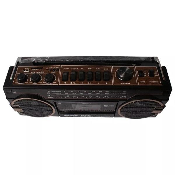 Radio Cassete Akustic AK149U AM/FM Puerto USB