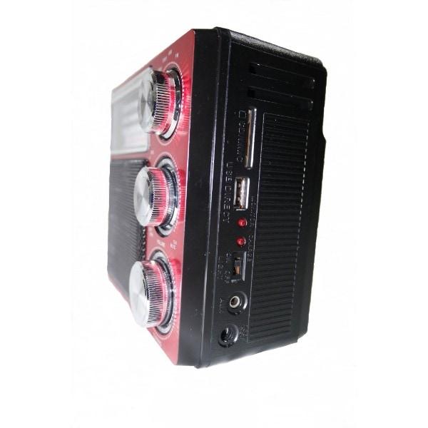 Radiograbadora Akustic AK-169UREC con Linterna
