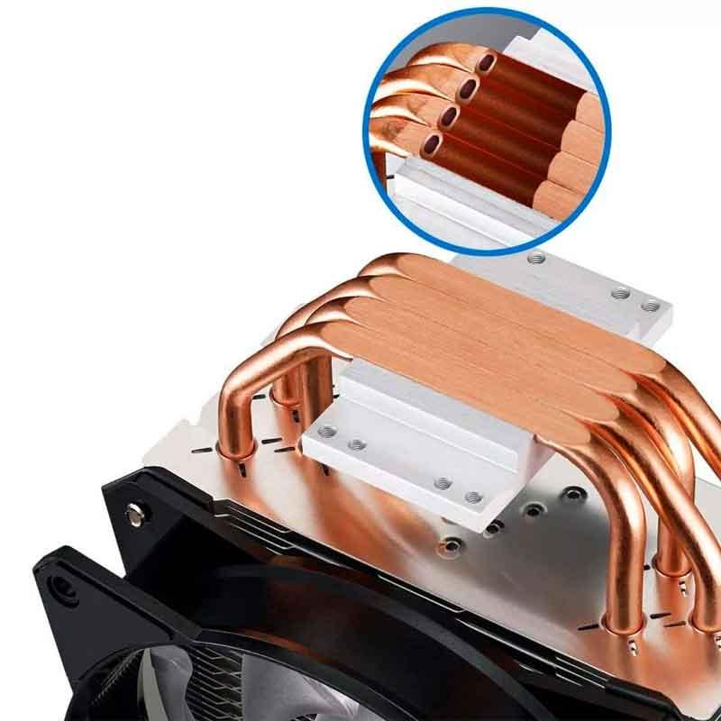 Disipador Cooler Master Masterair Ma410p Map-t4pn-220pc-r1