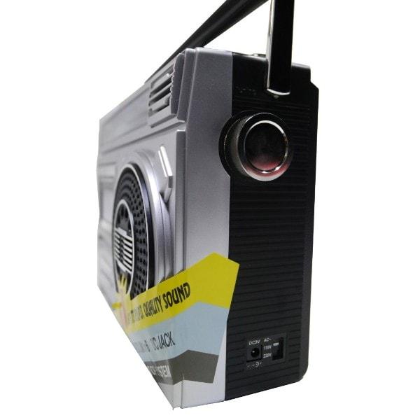 Radiograbadora Akustic AK-M300BT USB Tarjeta SD
