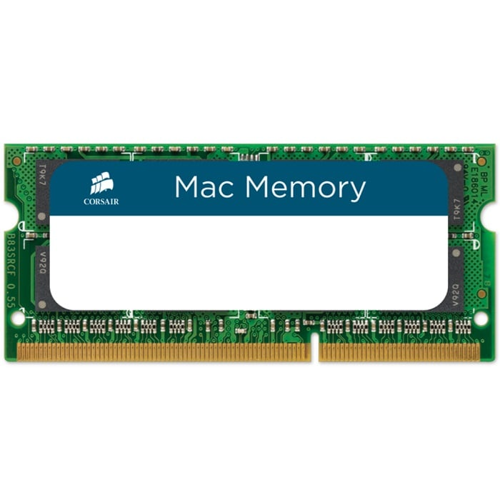Memoria Ram DDR3 Sodimm Corsair 4GB 1333MHz Apple Certified CMSA4GX3M1A1333C9