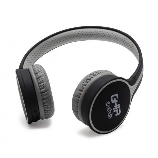 Audifonos Diadema Ghia GAC-103 negro/gris Bluetooth 4.2
