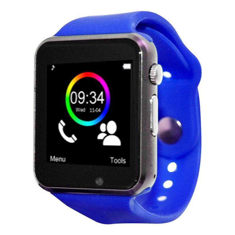 Smart Watch Celular Reloj Touch Azul Bluetooth Necnon C-3t