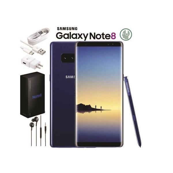 Oferta Smartphone Samsung Galaxy Note 8 64gb Cámara 12MP Liberado de Fábrica para cualquier Compañía
