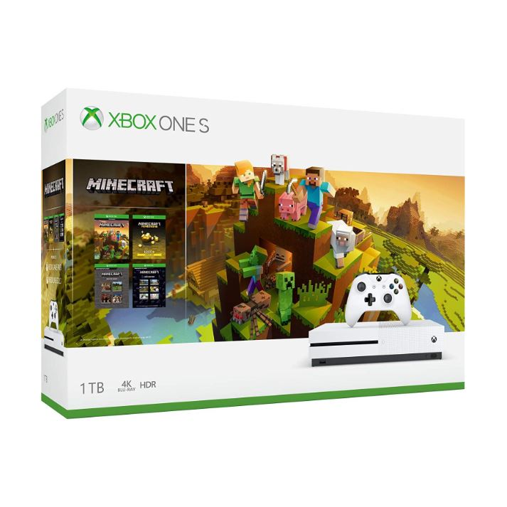 Consola Xbox One S 1tb Minecraft Edition 1 Control + Gold