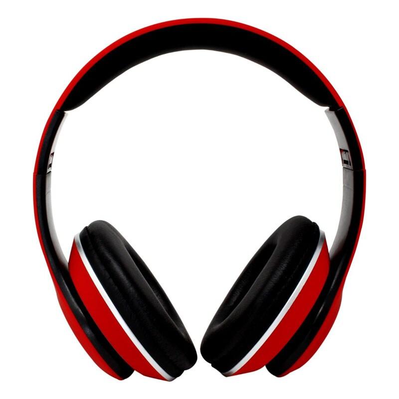 """""""Diadema Bluetooth Manos Libres Necnon Nbh-01r Rojo """""""