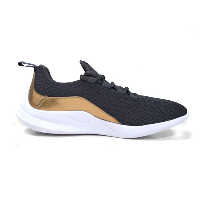 Tenis Nike Viale Ep Gs Gris/Dorado - BV0730 001
