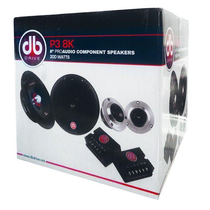 Set De Medios Rangos 8  Db Drive Okur P3 8k 300w Open Show