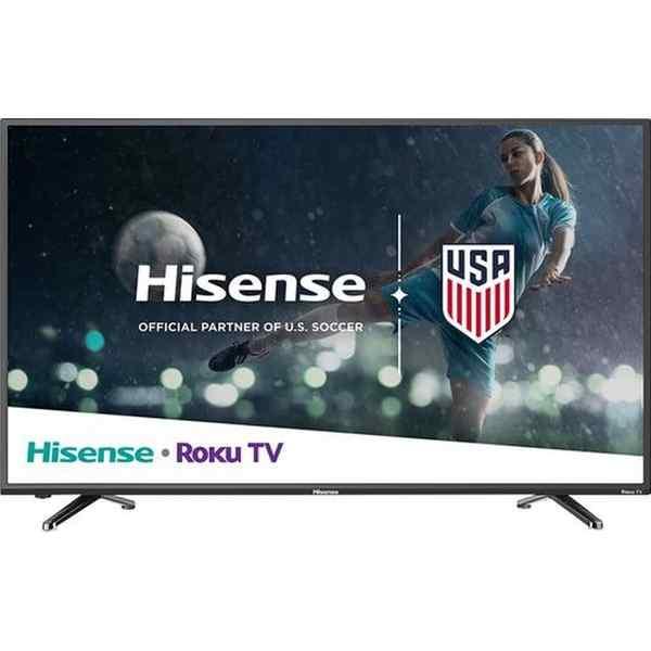 Smart Tv Pantalla Led 4k 43 Pulgadas Hisense Con Roku  REACONDICIONADO