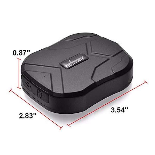 Rastreador GPS TK905 con Potente Imán Ideal para Vehículo o Moto