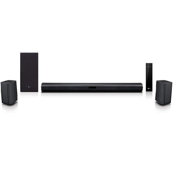 Barra de Sonido Negra LG Dolby Digital HDMI SJ4R