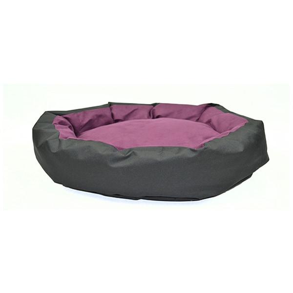 Cama circular para perro chico morado Lunics Pets