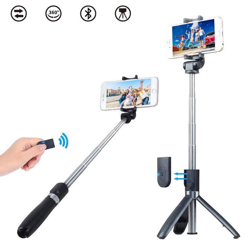 Selfie Stick y Tripie Apexel APLD4 con Obturador Bluetooth