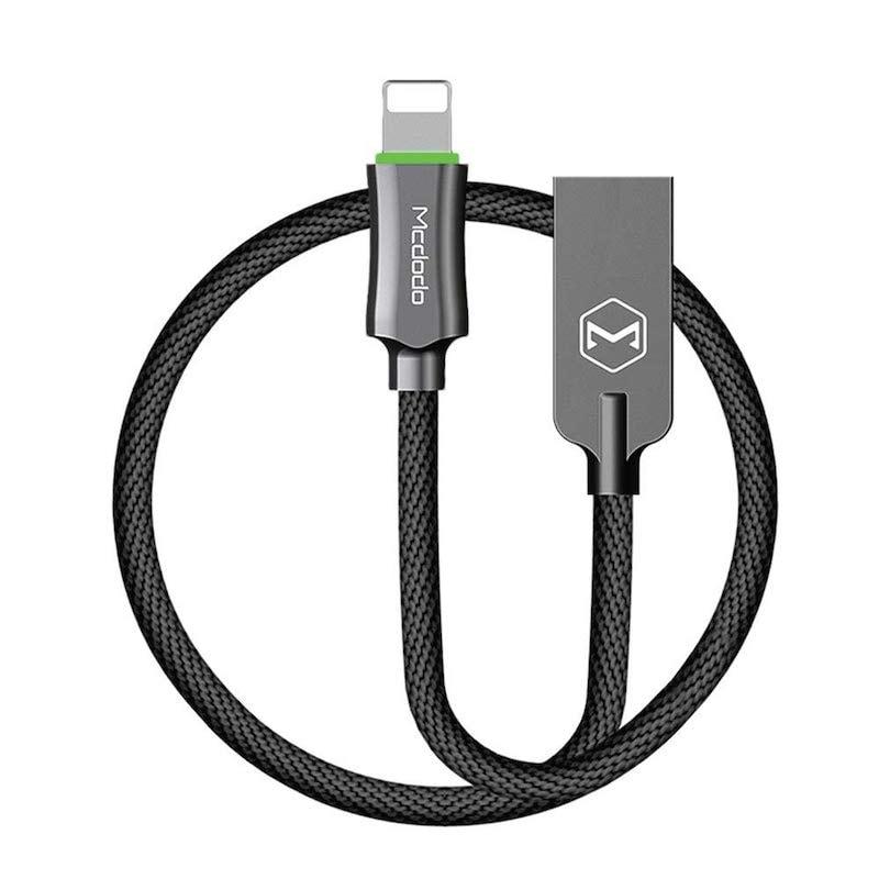 Cable Cargador MCDODO Lightning Carga Rápida Auto Desconexión 120cm