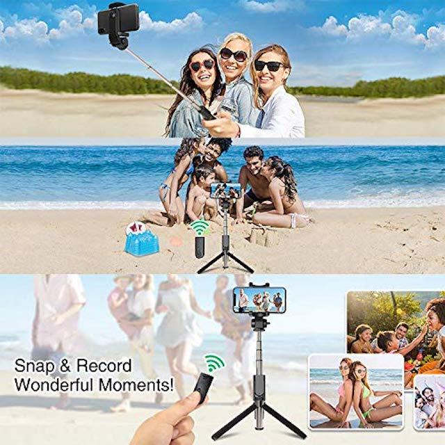 Selfie Stick y Tripie 2 en 1 Apexel para Celular