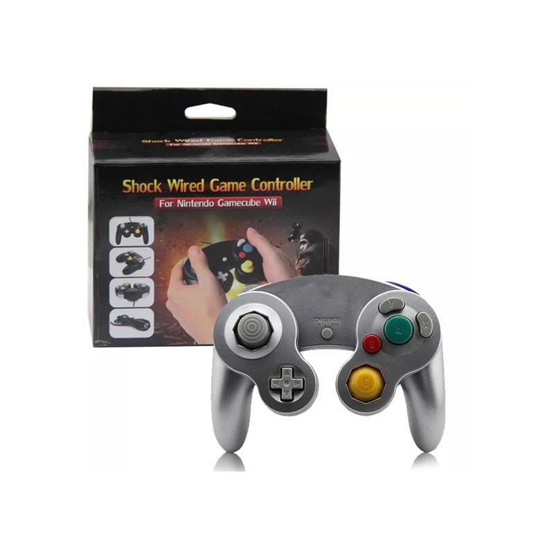 4 Pzas Controles Gamecube + Adaptador Para Nintendo Switch
