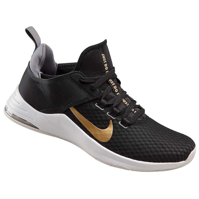 Tenis Nike Air Max Bella Tr 2 Negro/Dorado - AQ7492 001