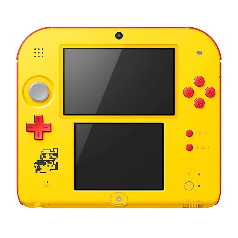 NINTENDO 2DS SUPER MARIO MAKER FOR NINTENDO 3DS YELLOW RED