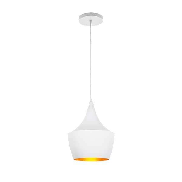 Candil Decorativo Aluminio Blanco Lámpara Techo Maxxi