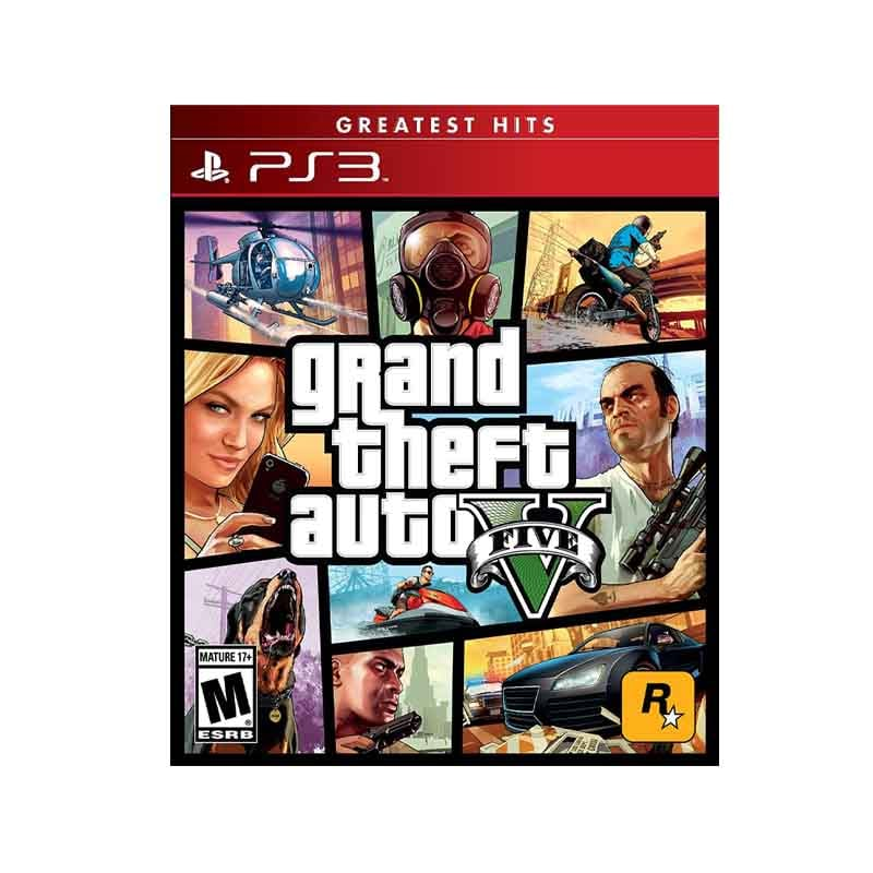 Ps3 Juego Grand Theft Auto V Compatible Con Playstation 3
