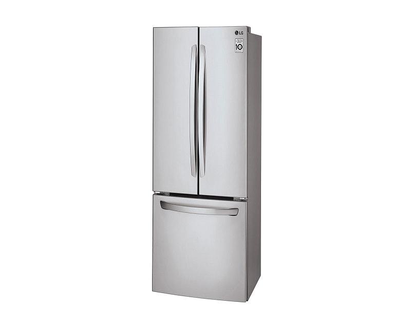 Refrigerador LG GF24BGSK 24 Pies Acero French Door