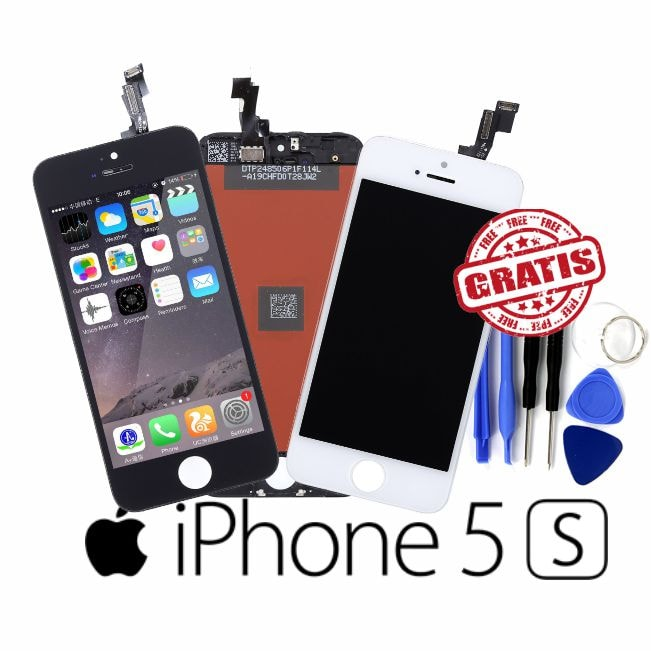 Pantalla LCD OEM Touch para iPhone 5S, Negra