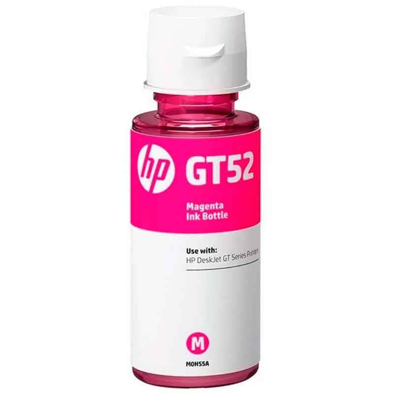 Botella De Tinta Hp Gt52 M0h55al 70ml Magenta