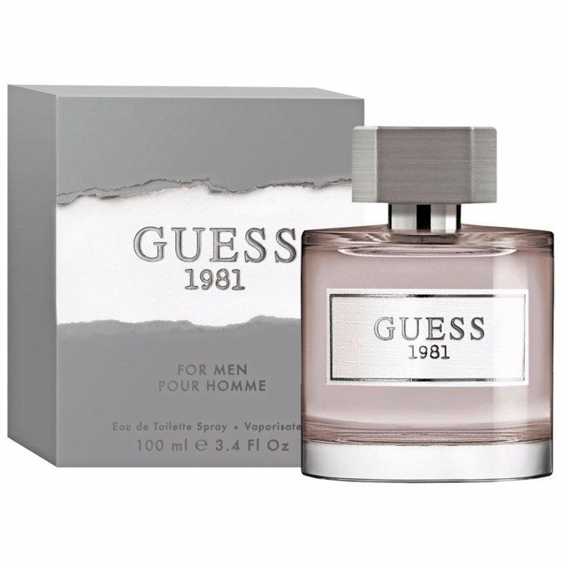 Perfume 1981 para Hombre de Guess Eau de Toilette 100ml