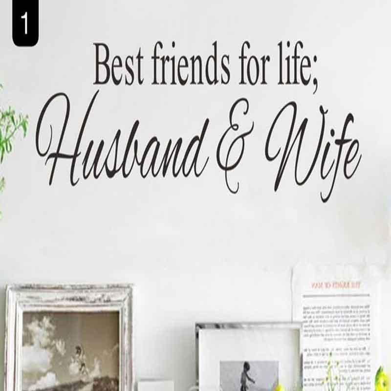 VINILO HUSBAND & WIFE 68*27 CM
