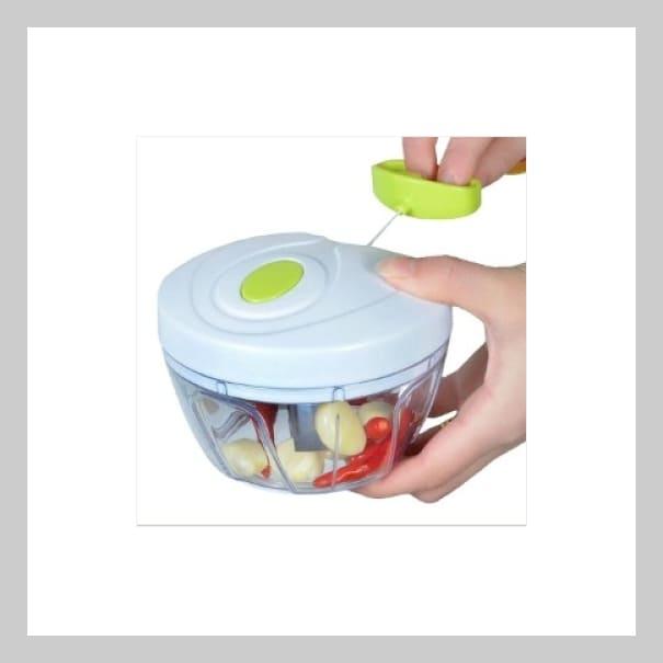 Cortador Picador Rebanador De Frutas Verduras Nueces Papilla