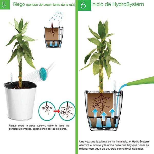 Smart Garden Maceta Autorregable RA3633 - Mediana Moderna - Riego Inteligente