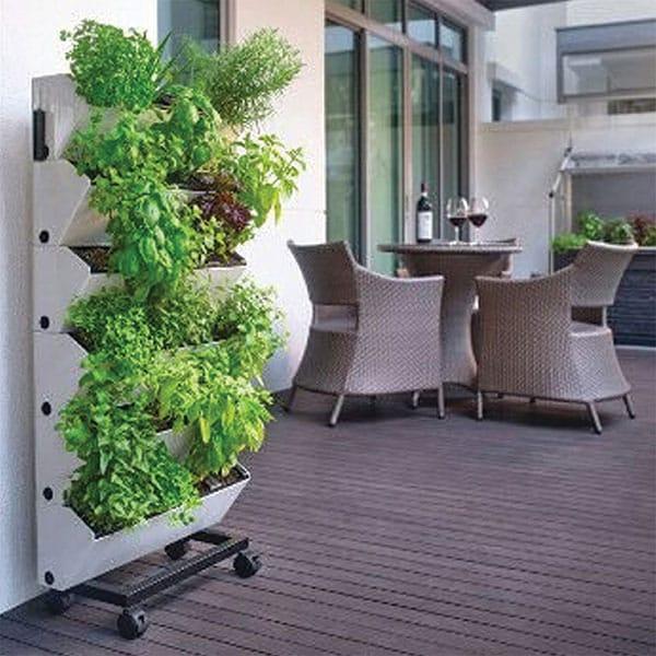 Smart Garden Maceta Autorregable HF5718-SET2 Muro Pared - Interior y Exterior