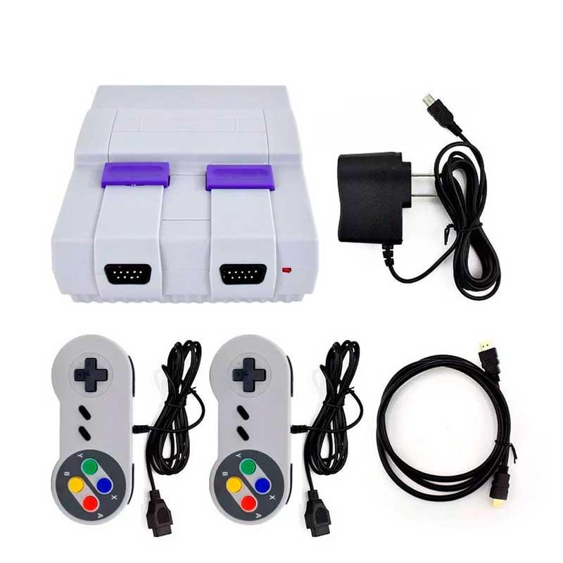 Consola Retro SUPER MINI SN02  821 Juegos 2 Mandos HDMI SFC-821