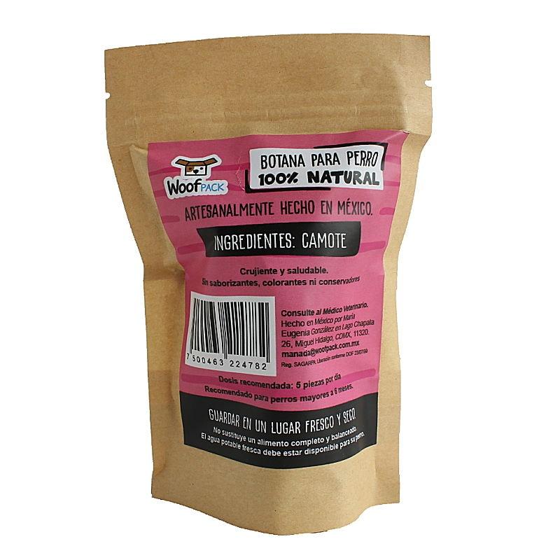Snack Crunch Camote para perro