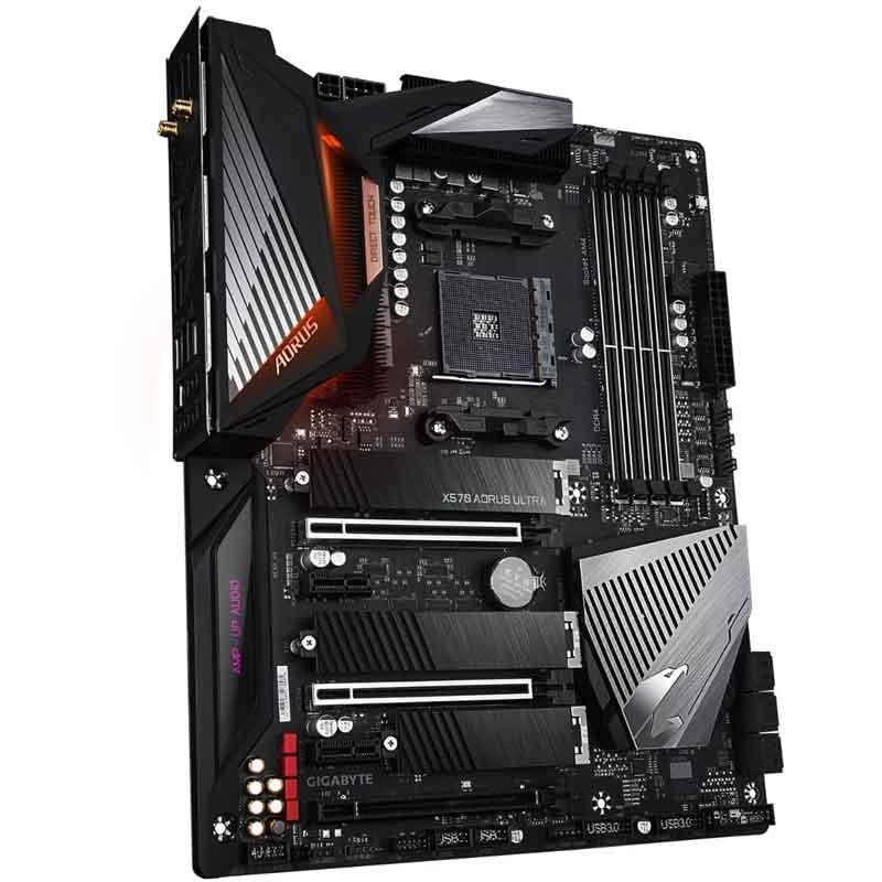 Tarjeta Madre AORUS X570 Aorus Ultra AM4 DDR4 ATX