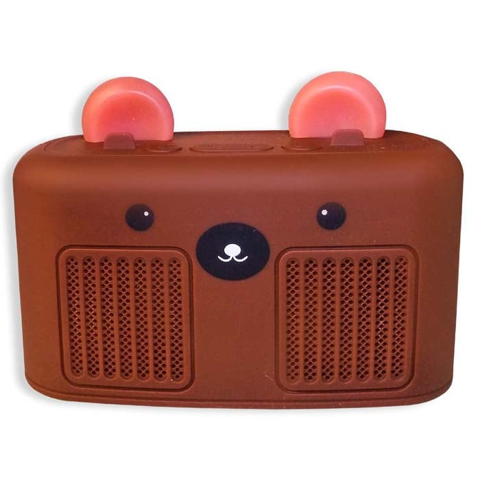 BOCINA INALAMBRICA OSO,CONEJO,RENO,GATO BT RADIOR FM, BT, SD CARD, USB, 2 EN 1 SG10·M59 / SG11·M58 / SG12·M60 / SG13·M57
