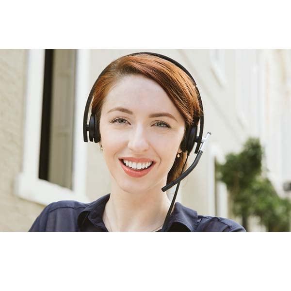 Audifonos Logitech H650e Profesional Call Center 981-000518