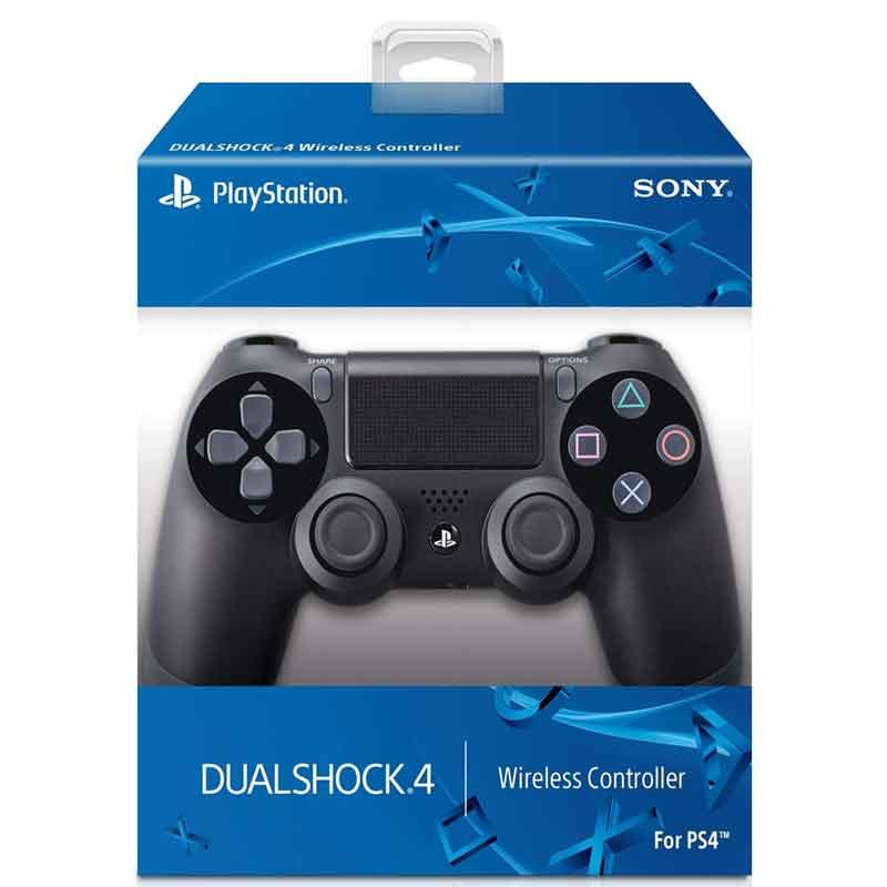 Control PS4 SONY PlayStation 4 DUALSHOCK 4 Black Inalambrico