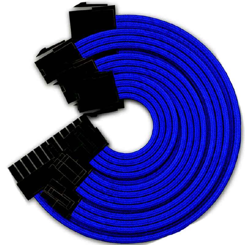 Cable Extension Fuente de poder YEYIAN Kabel Serie 1000Azul KS1000A
