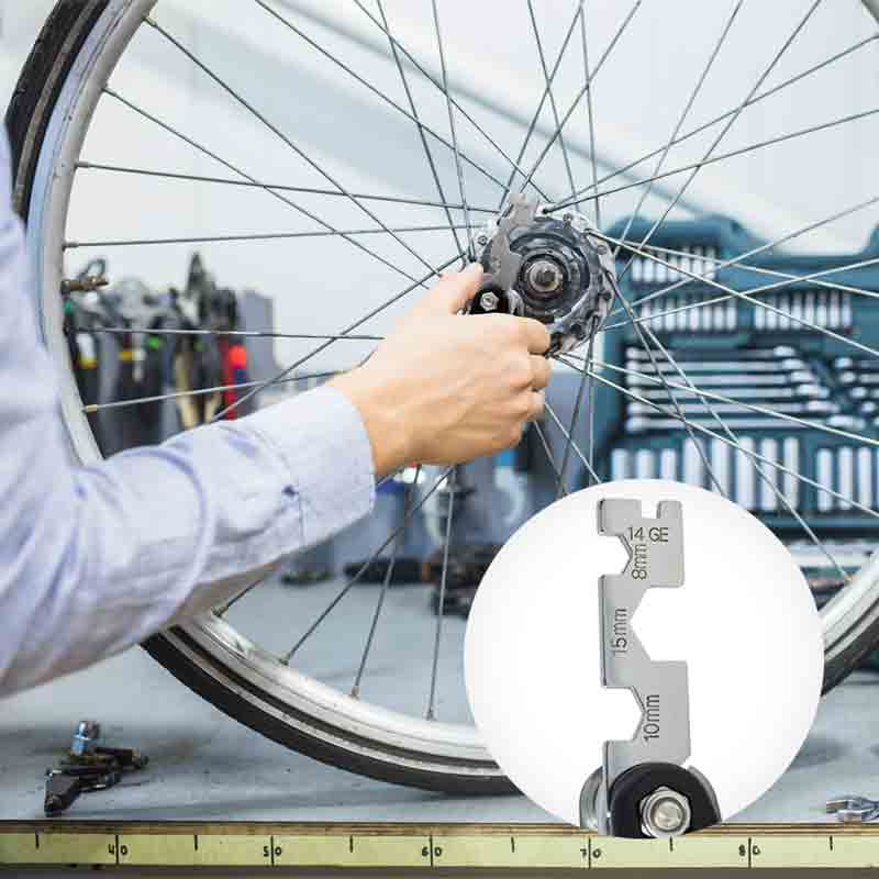 Redlemon Multiherramienta Premium para Bicicleta 15 en 1 Portátil
